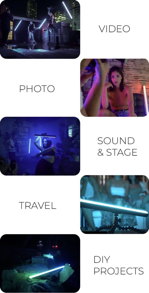 TEKE: Hollywood DMX Lighting - For Photo & Video Creators