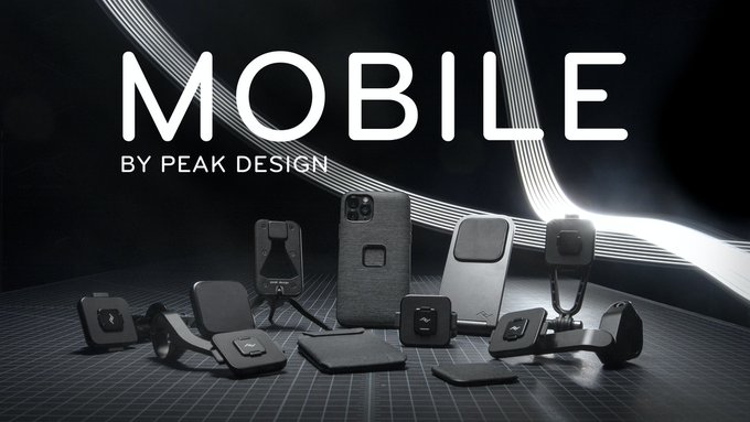 Mobile by Peak Design: Make your phone a better tool.